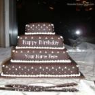 Happy Birthday Layered Cake