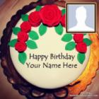 Latest Birthday Cake For Husband With Photo And Name