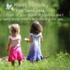 Lovely Birthday Card for Sister