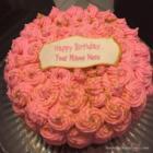 Pink Icecream Birthday Cake