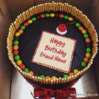 Sweet Candy Cake For Happy Birthday Wish
