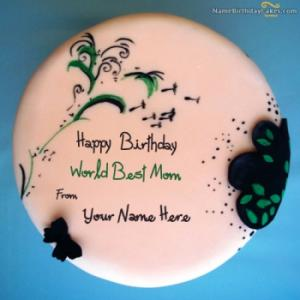 Best Birthday Cake For Mother With Name