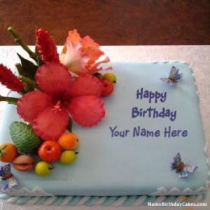 Best Fruit Cake For Your Birthday With Name