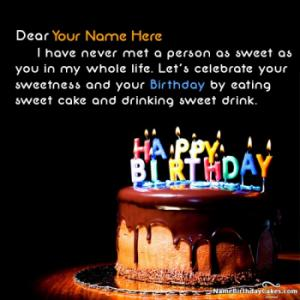 Special Birthday Wishes For Friend With Name And Photo Happy Birthday Wishes For A Friend