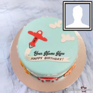 Happy Birthday Cake For Kids Boys With Name