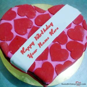 Birthday Cakes for Lover With Name