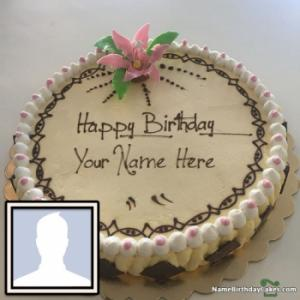 Creative Image Of Birthday Cake With Name