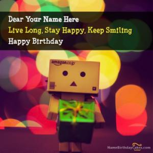 Cute Birthday Wish For Everyone With Name