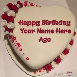 Free Happy Birthday Cake Name