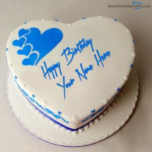 Happy Birthday Cake for Lover With Name