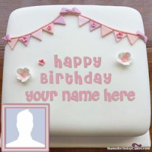 Happy Birthday Cake Photo Editing Online With Name