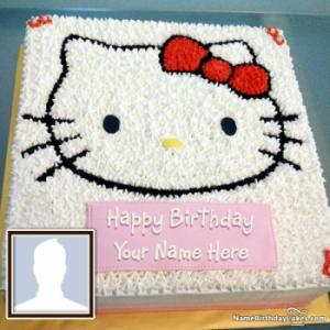 Hello Kitty Birthday Cake For Children Special Day