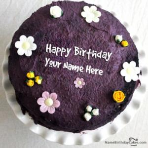 Most Lovely Birthday Cake With Name