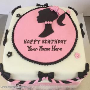 New Arrival Awesome Birthday Cake For Girls With Name