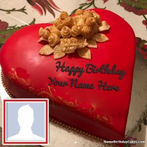 Romantic Happy Birthday Images With Name Of Your Love