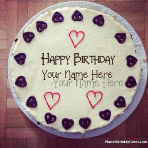 Special Handmade Happy Birthday Cake For Best Friends With Name