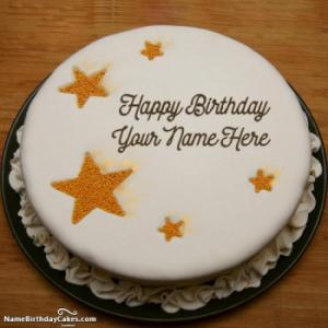 White Chocolate Cake For Brother Birthday Wishes With Name