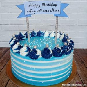 Write Name On Cake For Girl Birthday