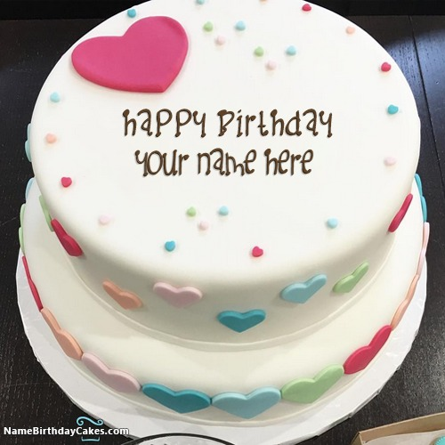 Free Personalised Birthday Cakes Images