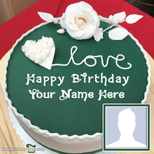 Amazing Ice Cream Cake For Friends Birthday Wish With Name & Photo