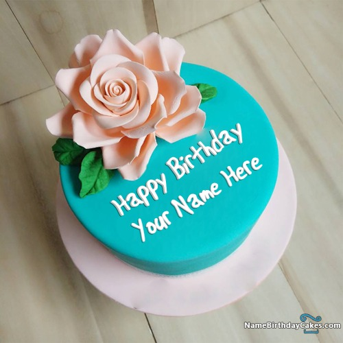 Happy Birthday Cakes for Girls with Name