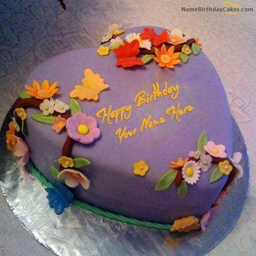 Write Name On Best Birthday Cake For Husband