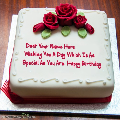 Birthday Cake Images For Lover : Happy Birthday Cake With Name - It Looks Like Real - Page 6