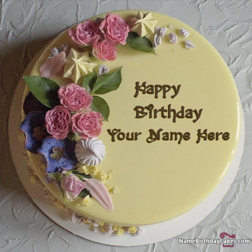Write Name On Best Cake For Sister Birthday Wishes