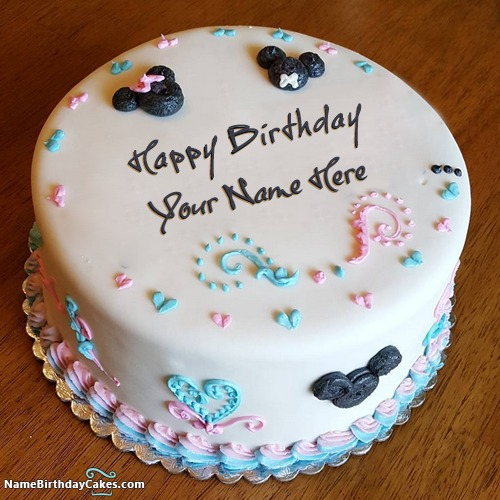 Write Name On Best Cakes For Kid Happy Birthday Wish