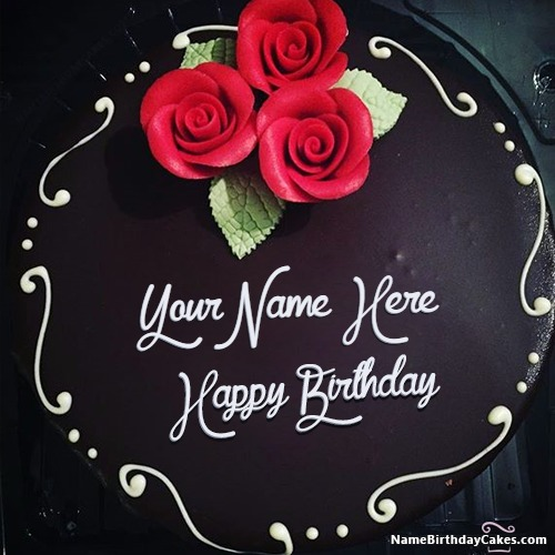 Awesome Best Chocolate Birthday Cake For Friends With Name Funny Birthday Cards Online Necthendildamsfinfo