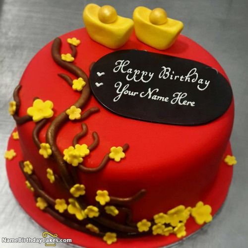 Best Red Velvet Cakes For Wife Birthday With Name With Name