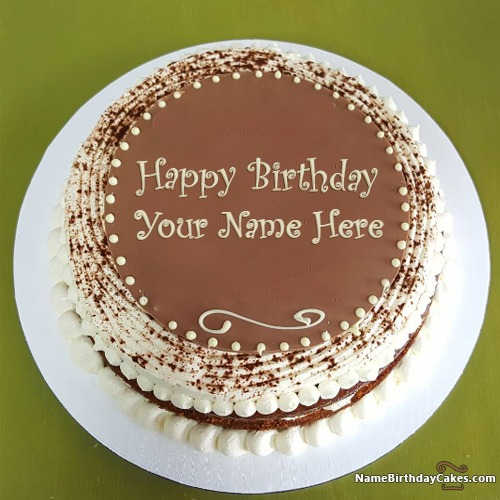 Best Vanilla Cake For Your Best Friend Birthday Wish With Name & Photo