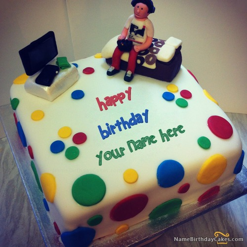 Cake Images And Names : Birthday Cake for boys