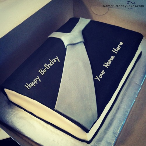 Birthday Cake For Businessman With Name