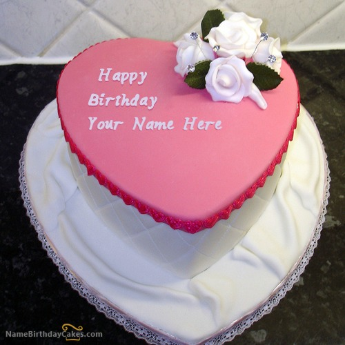 Write Name On Birthday Cake For Girls