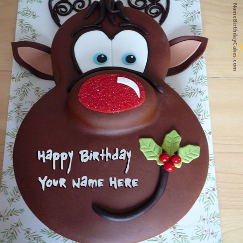 Write Name On Birthday Cake for Kids