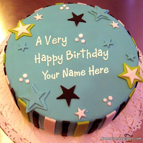 Birthday Cake For Special Friends With Name & Photo