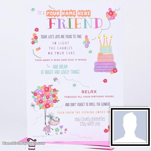 Brilliant Birthday Cards For Best Friend With Name Funny Birthday Cards Online Elaedamsfinfo