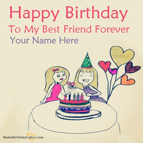 Birthday Wish For Best Friend With Name