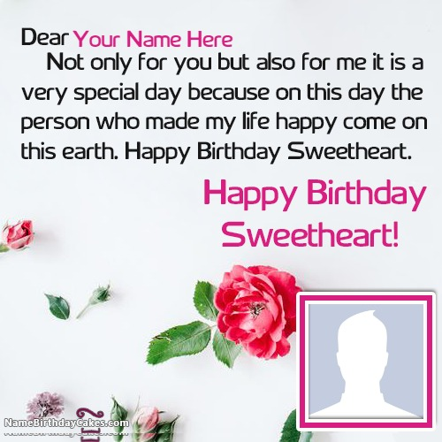 Special Birthday Wishes For Friend With Name And Photo – Special Birthday Greeting