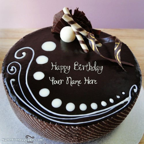 Outstanding Candy Chocolate Cake Images With Name Funny Birthday Cards Online Alyptdamsfinfo