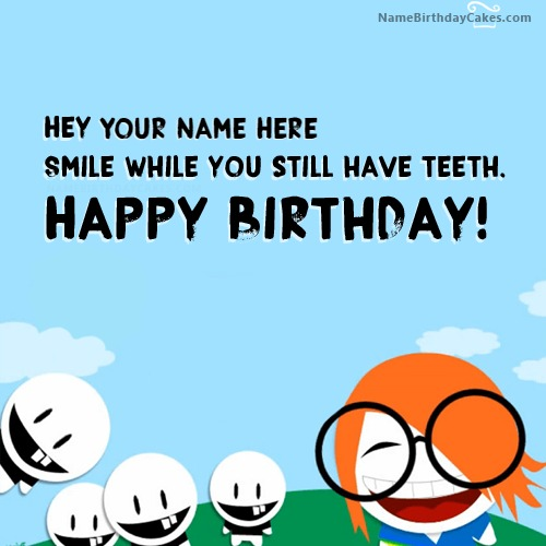 Awesome Crazy Funny Birthday Wishes With Name Funny Birthday Cards Online Fluifree Goldxyz