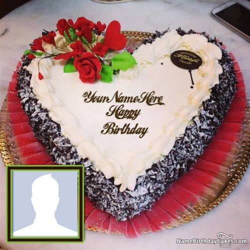 Birthday Cake Pics For Lovers : Free Happy Birthday Cakes for Lover With Name And Photo