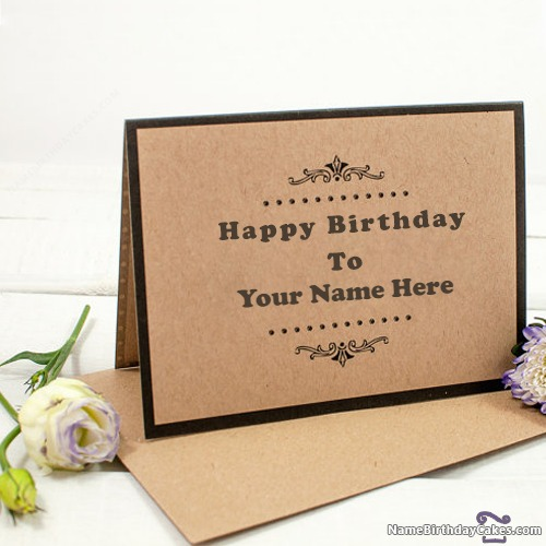 Free Best Happy Birthday Cards With Name & Photo