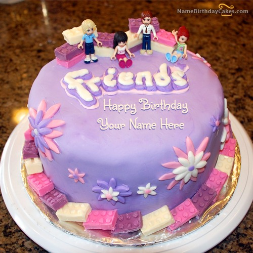 Friendship Birthday Cake For Friends