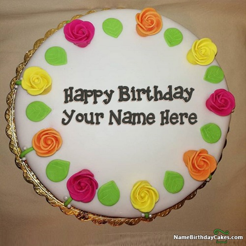 generate birthday cake pic with name photo free