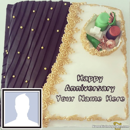 Happy Anniversary With Name - Wish In A Romantic Way