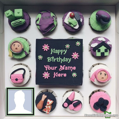 Write Name On Happy Birthday Big Sister Images Cake