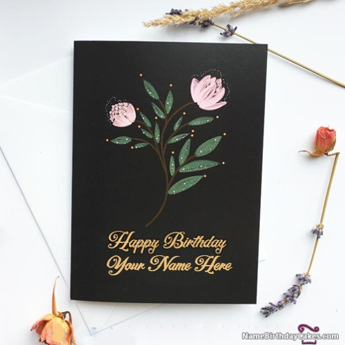Along With You Can Write Name On Birthday Cards Too So What Are Waiting For Generate Your Loved Ones