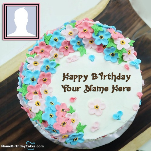 Write Name On Happy Birthday Sister Images Of Cakes With Name And Photo